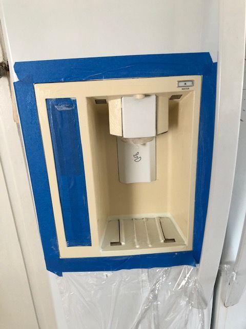 Refrigerator water dispenser repair