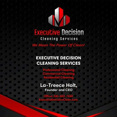 Avatar for Executive Decision Cleaning Services Suitland, MD Thumbtack
