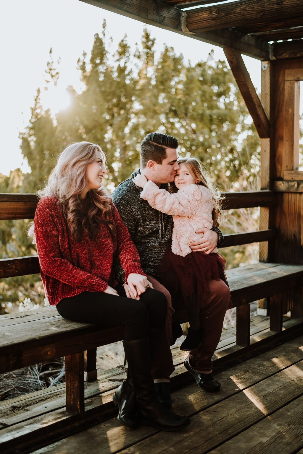 Foothills family session