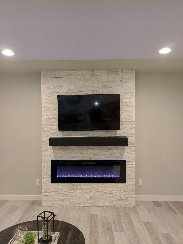 Custom Fireplace Build