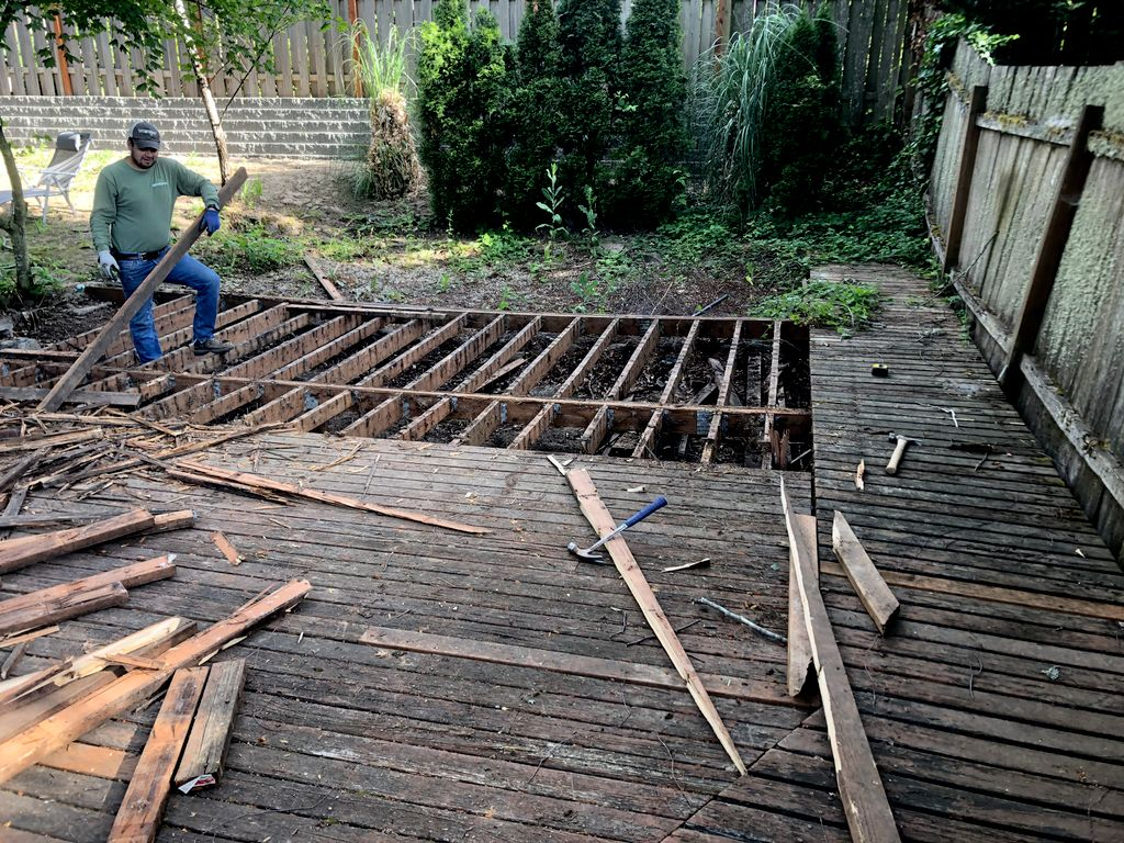 Deck repairs Fence work Concrete and much more