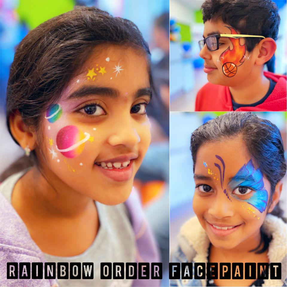 Face Painting grand opening - Pleasanton 2020