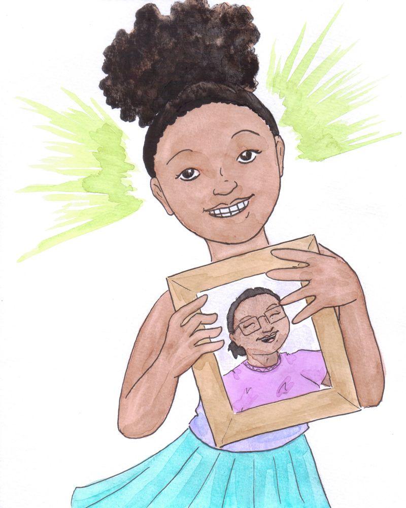 I Love My Gua- Children's Book Illustration