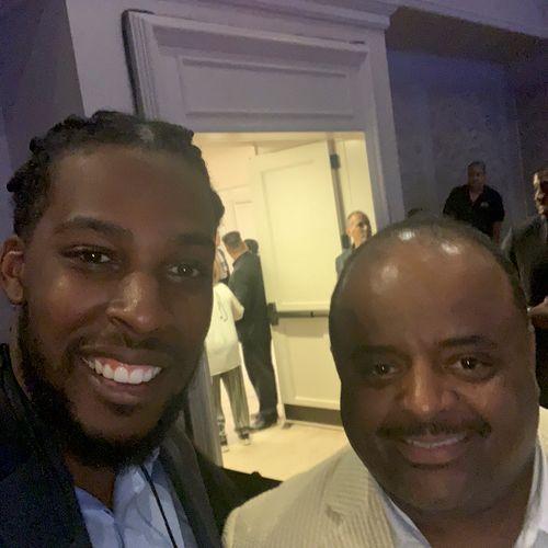Roland Powell and I at NABJ MIA.