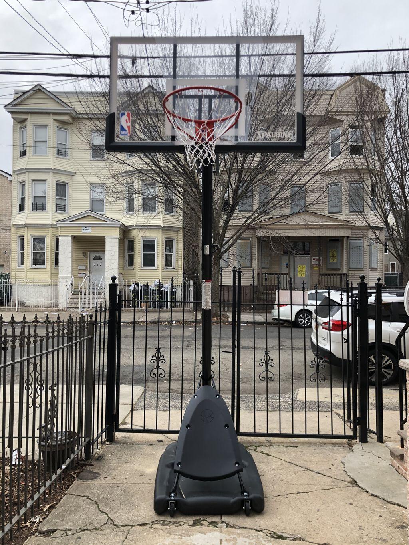 Spaulding Basketball Hoop Assembly