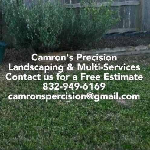 Camron's Precision Landscaping & Multi-Services