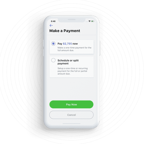 Get guaranteed rent payments each month
