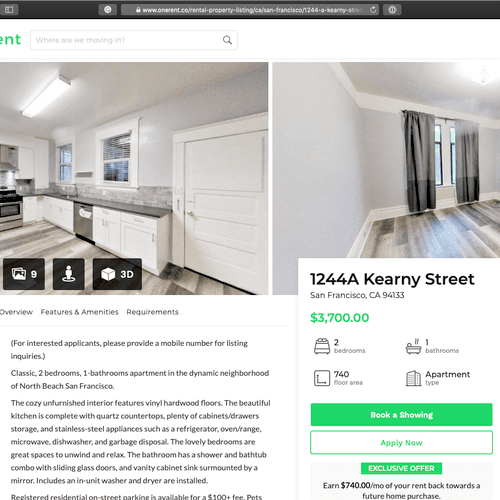Get 3D Virtual Tours for your listing