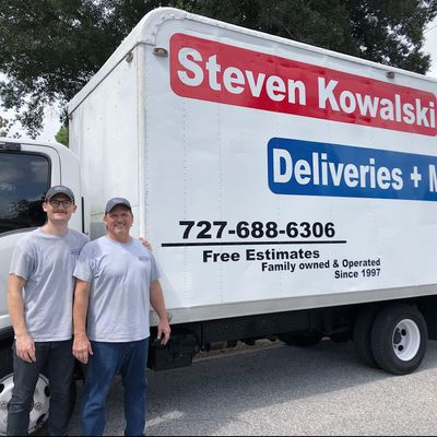 Avatar for Steven Kowalski Deliveries+Moves Clearwater, FL Thumbtack