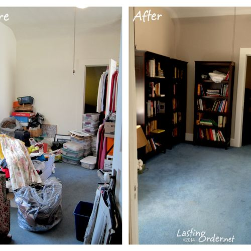 Library Before & After