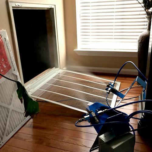 Treating HVAC System