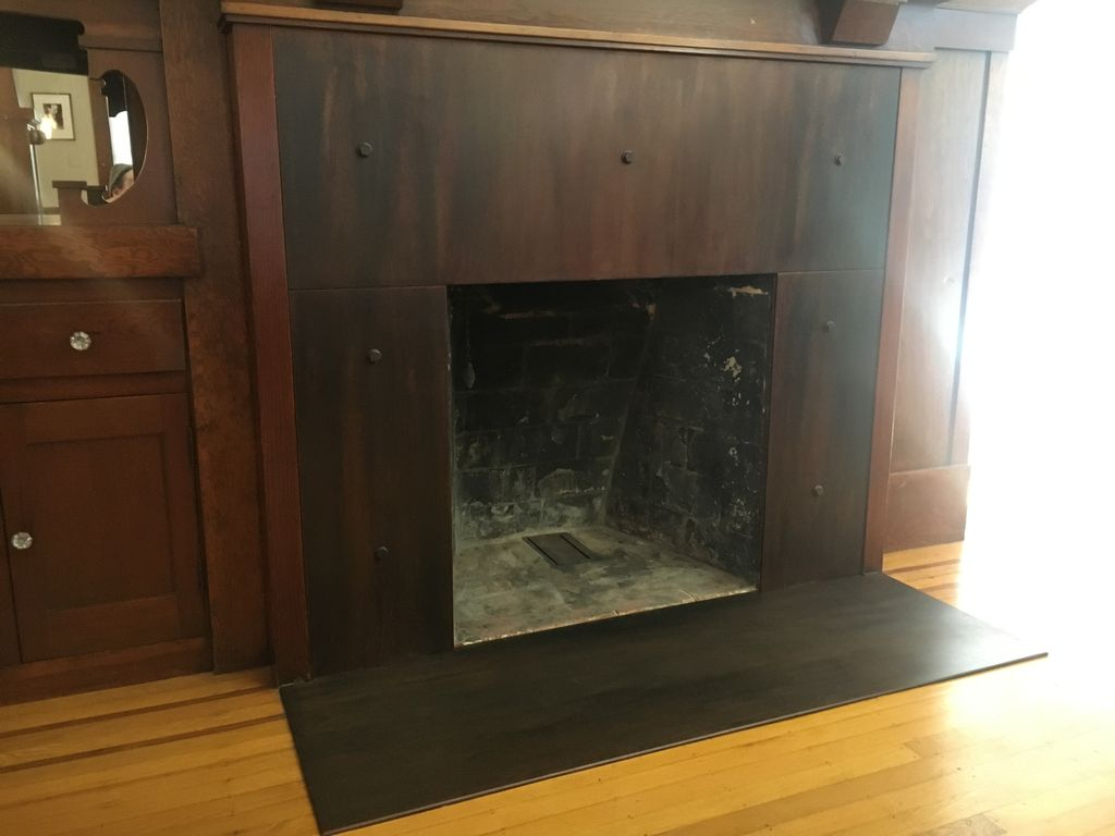 Fireplace surround- Berkeley 2020