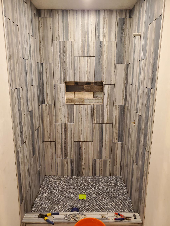 Shower build