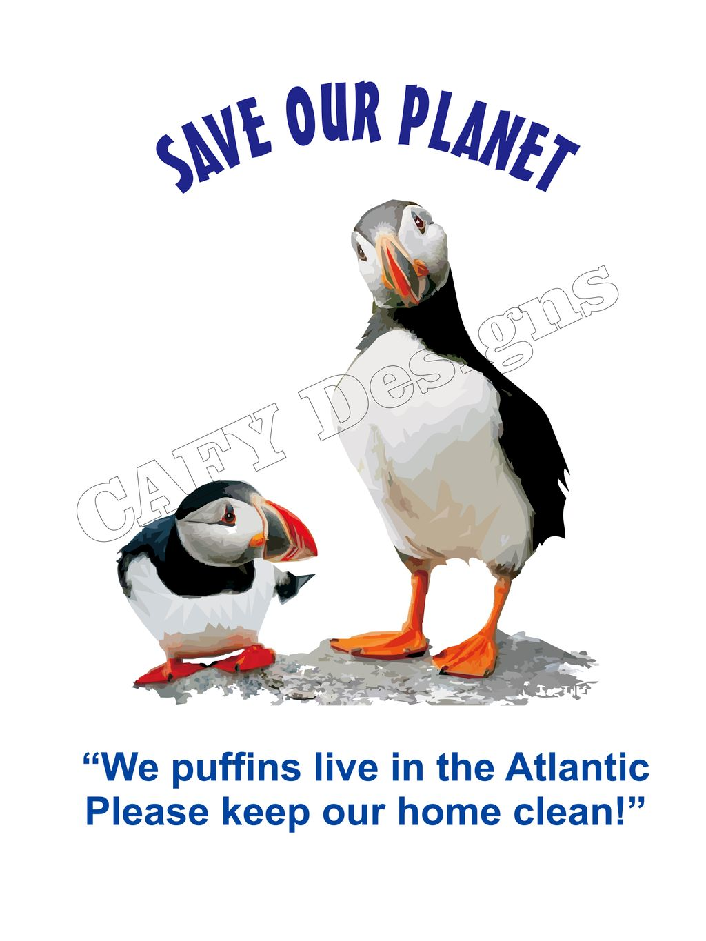 Puffin Save our Planet