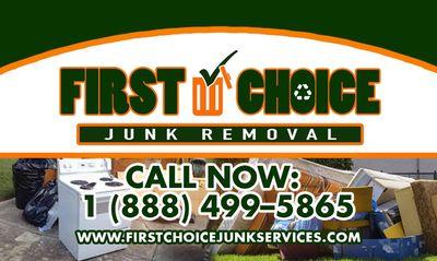 Avatar for First Choice Junk Removal Boynton Beach, FL Thumbtack