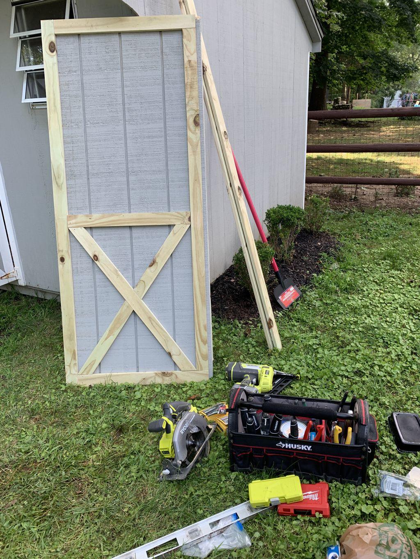 Various door installations and custom builds