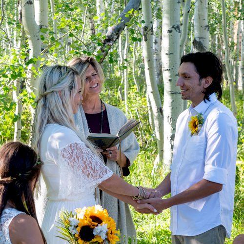 Park City mountain wedding