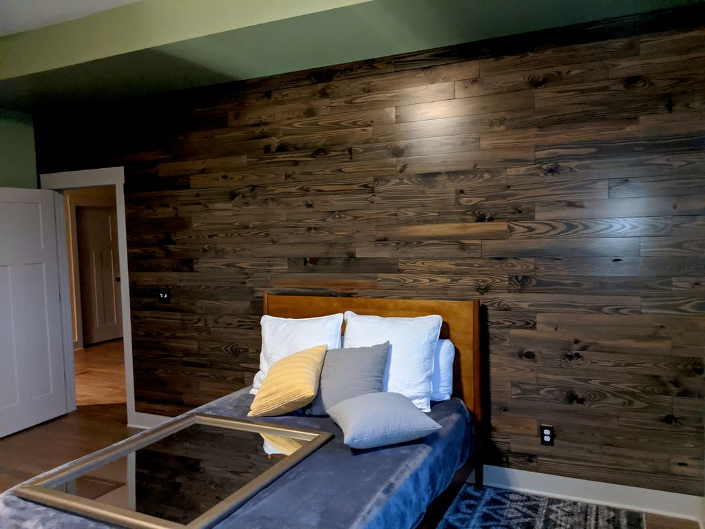 Paint and shiplap