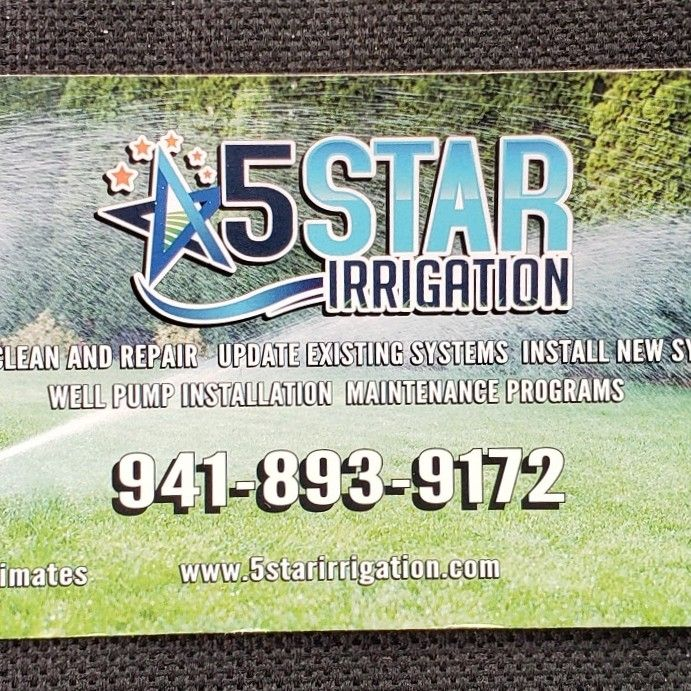 5 Star Irrigation