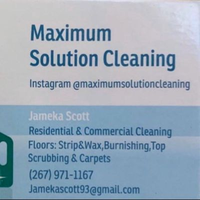 Avatar for Maximum Solution Cleaning Service Philadelphia, PA Thumbtack