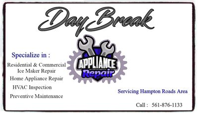 Avatar for Daybreak appliance repair Norfolk, VA Thumbtack