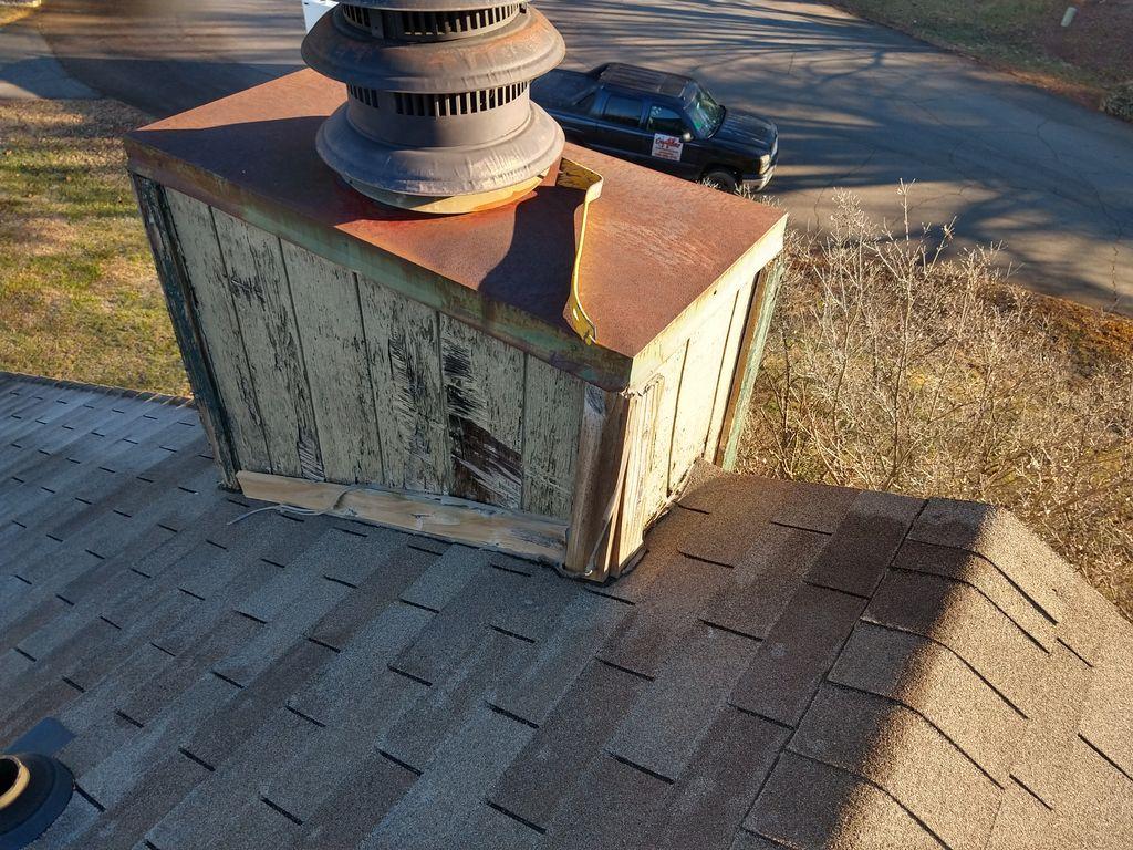 Repair to exterior siding