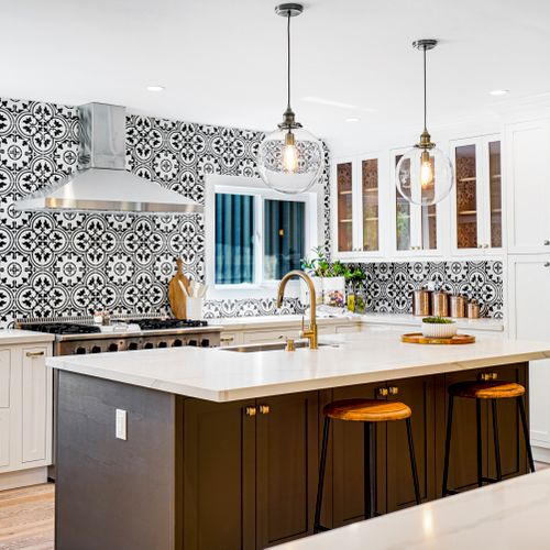 Remodeled Kitchen Shoot for a Kitchen Company