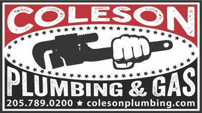 Avatar for Coleson Plumbing Birmingham, AL Thumbtack