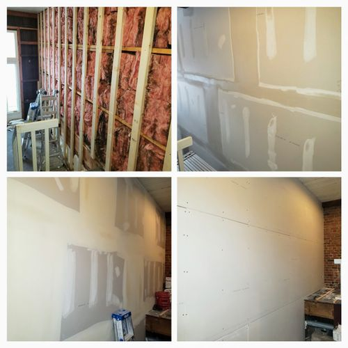 Drywall Hanging and Finishing