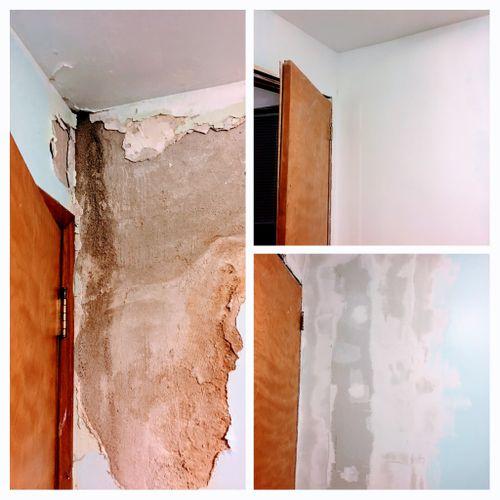 Plaster Water Damage Repair