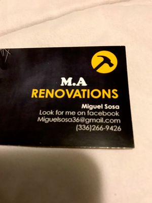 Avatar for M.A Renovations Graham, NC Thumbtack