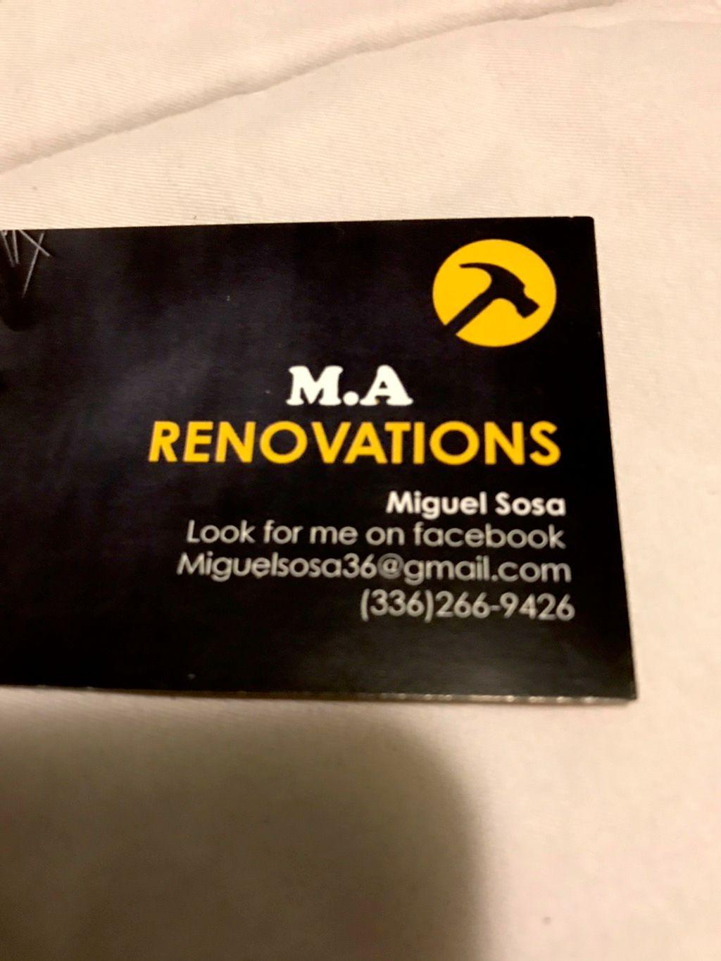 M.A Renovations
