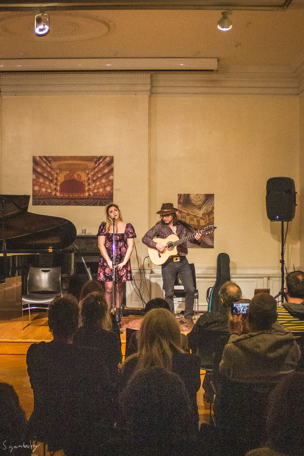 Farras - Marziani Duet at Argentine Consulate