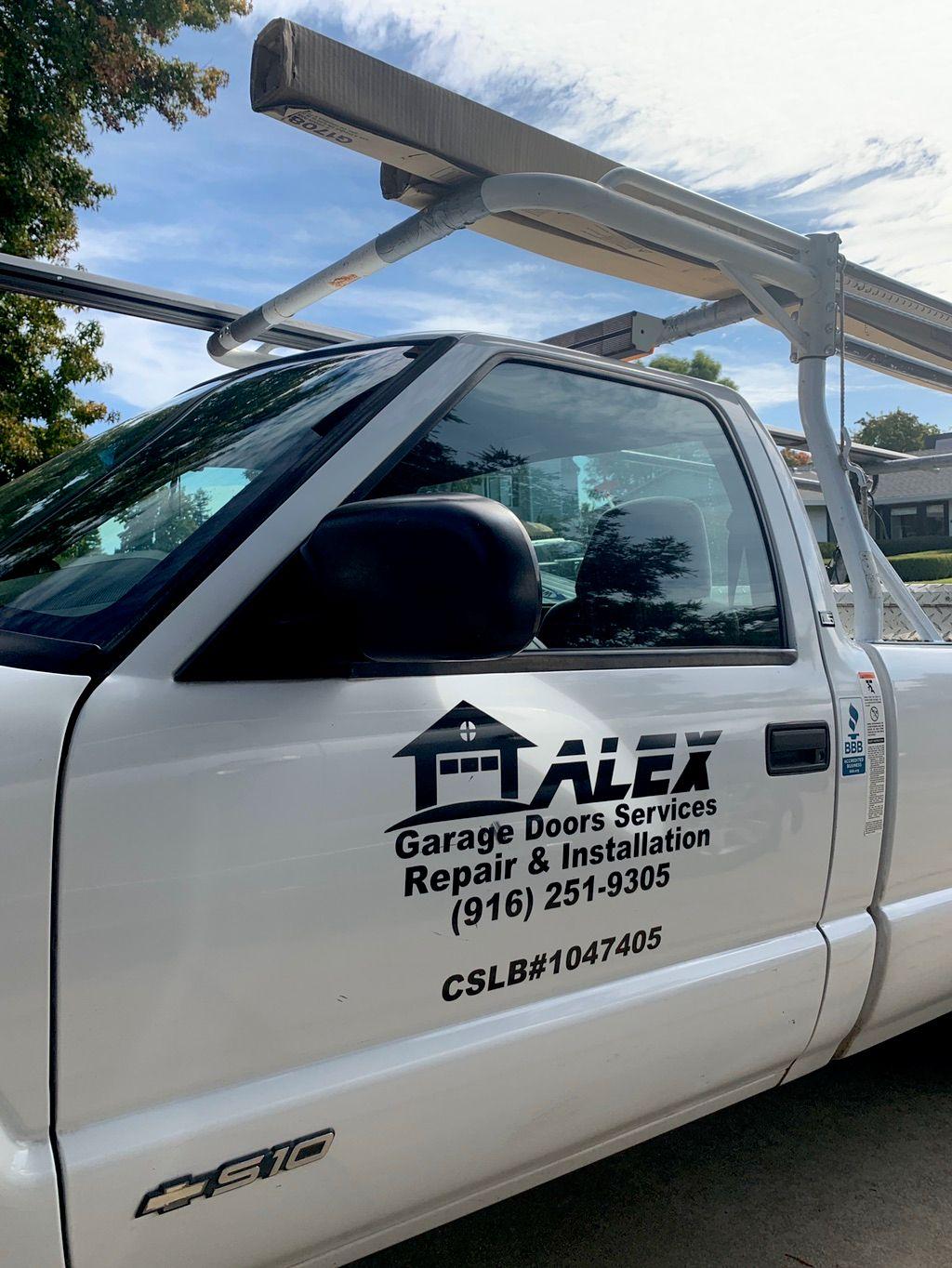 Alex garage doors services