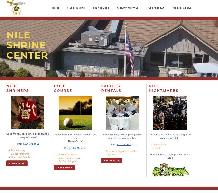 Nile Shriners Website