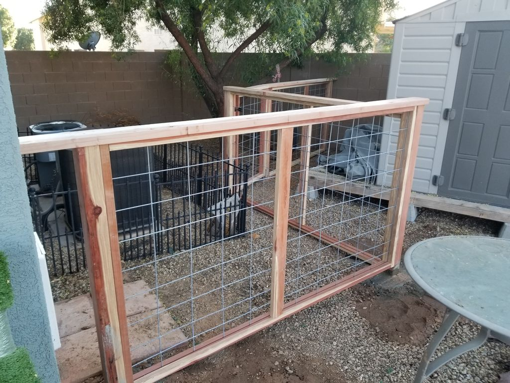 Fence for Dig Run