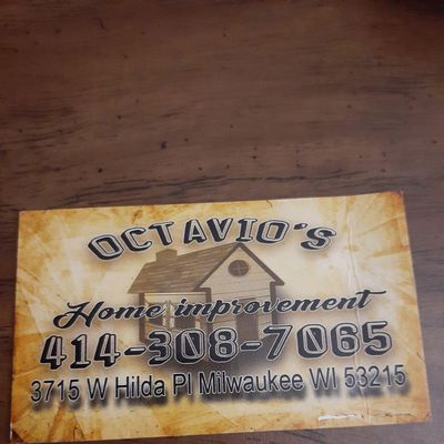 Avatar for Octavio's home improvement llc Milwaukee, WI Thumbtack