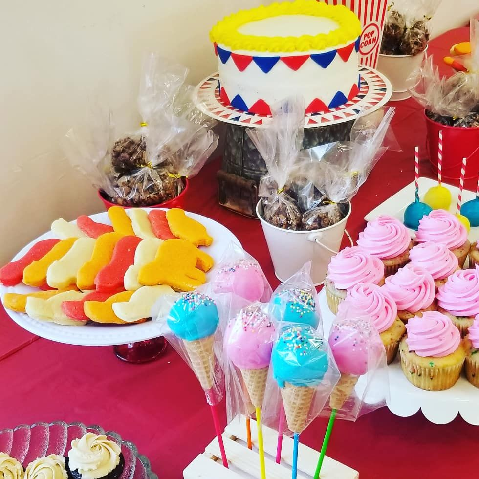 Circus Themed Baby Shower