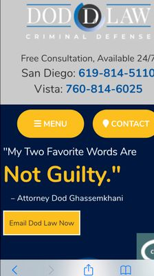 Avatar for DOD LAW San Diego, CA Thumbtack