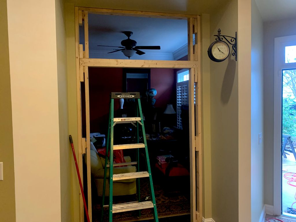 French Door Framing and Installation