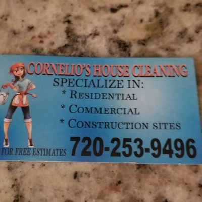 Avatar for Cornelio's House Cleaning Englewood, CO Thumbtack