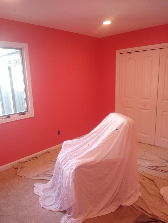 Bed rooms repaint