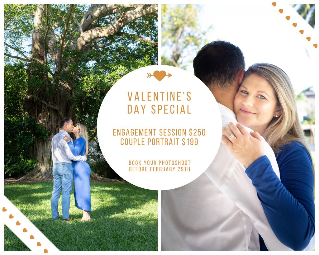 Engagement session or Couple portrait - February special