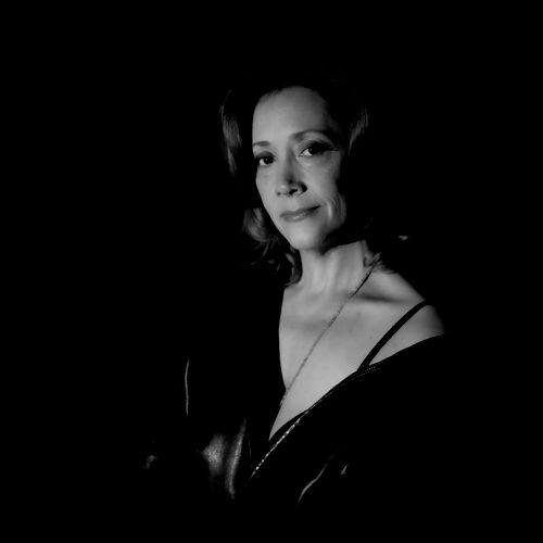 B&W portrait of Broadway Star from recent shoot