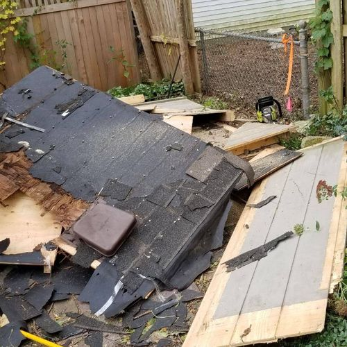 Small Shed Demolition