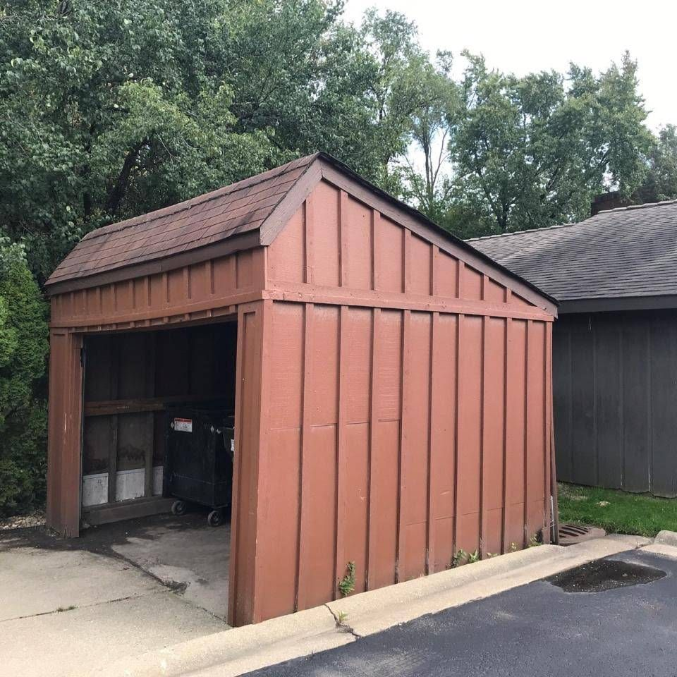 Remove Commercial Shed-Garage