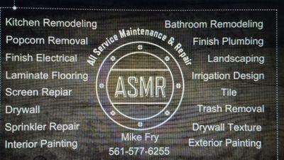 Avatar for All Service Maintenance & Repair Boynton Beach, FL Thumbtack