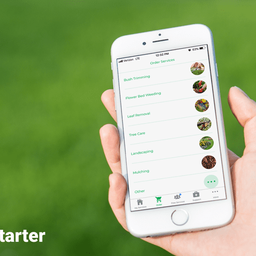 An app for lawn care, seriously?  You betcha! Stay up‑to‑date on your lawn wherever you go.