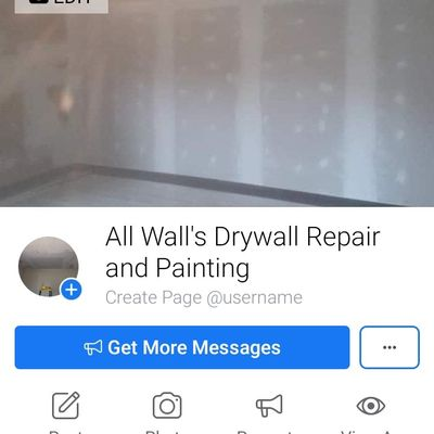 Avatar for All Wall's Drywall Repair and Painting