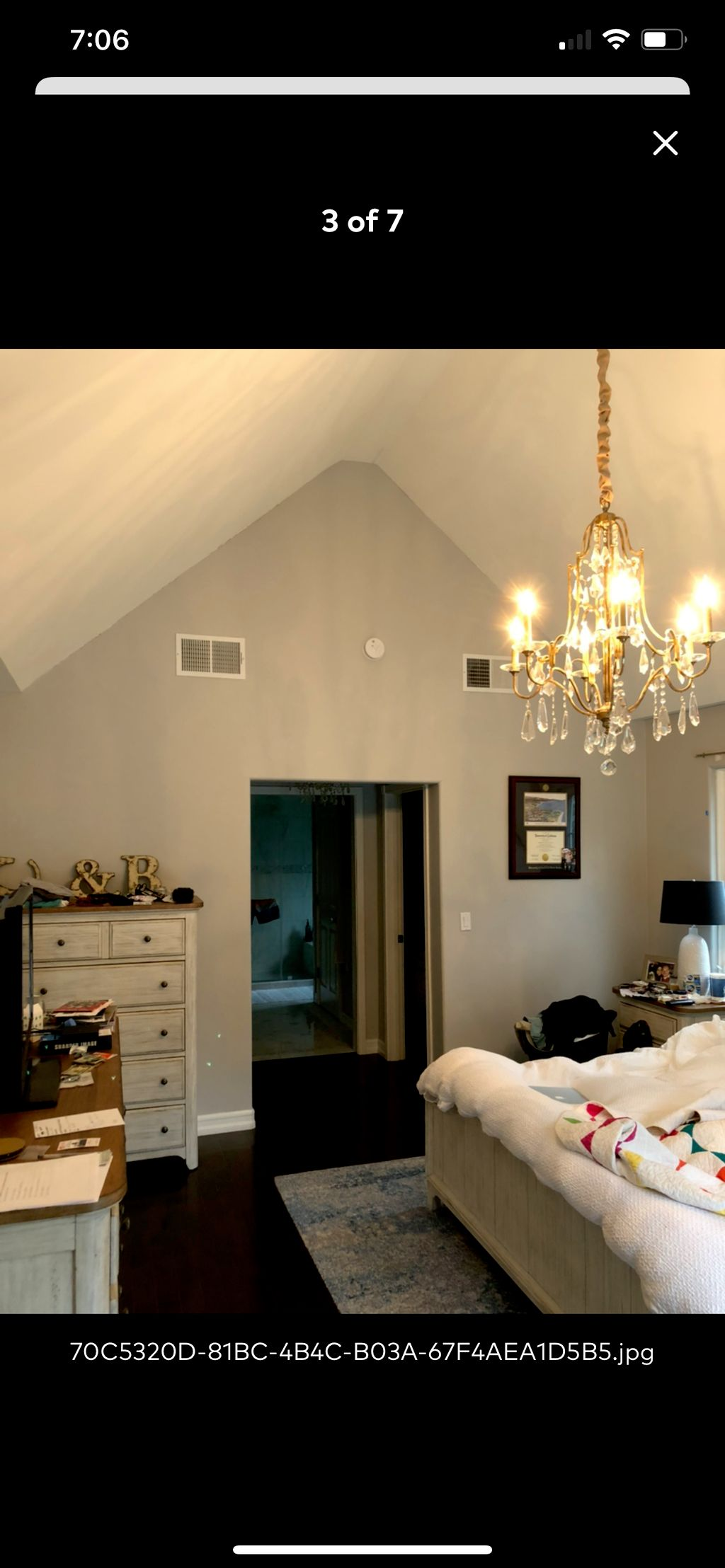 Interior paint and ceiling repairs